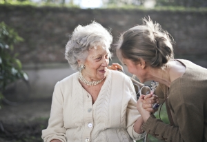 IAQ monitoring and management for assisted living