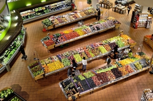 IAQ monitoring and management for supermarkets